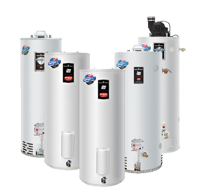 Our Lodi Plumbers install Bradford White water heaters regularly