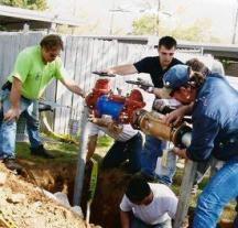 commercial pipe repairs and installaiton for your plumbers